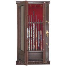 Оружейный сейф с бронестёклами AMW10