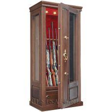 Оружейный сейф с бронестёклами AMW6