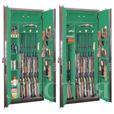 Оружейный сейф «Листья» BS968.d32.L43 FLOCK