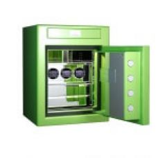 Сейф STOCKINGER CUBE 3V APPLE GREEN