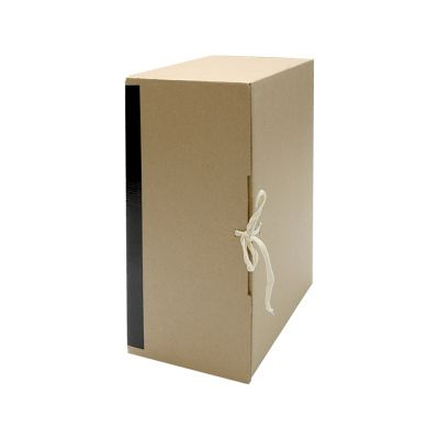 Архивный короб вертикальный на завязках