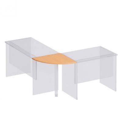 Приставка к столу B 66 дуб атланта