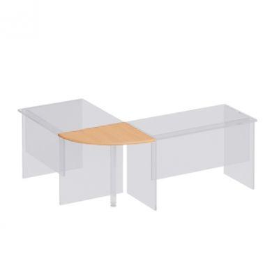 Приставка к столу B 67 дуб атланта