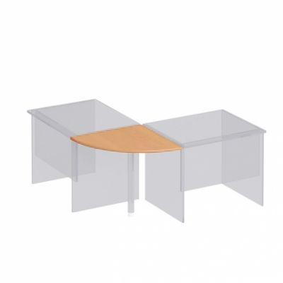 Приставка к столу B 77 дуб атланта