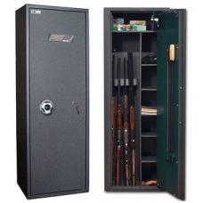 Оружейный сейф SAFETRONICS MAXI 5P EM/K5