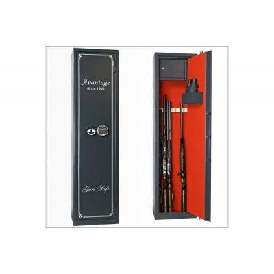 Оружейный сейф с отделкой Авантаж 400Еs