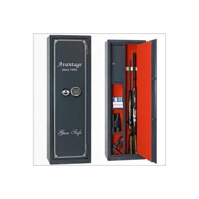 Оружейный сейф с отделкой Авантаж 420Еs
