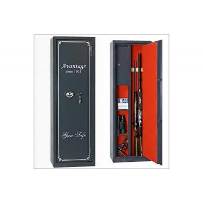 Оружейный сейф с отделкой Авантаж 420Ms