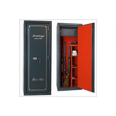 Оружейный сейф с отделкой Авантаж 560Ms