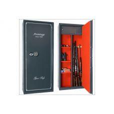 Оружейный сейф с отделкой Авантаж 650Еs