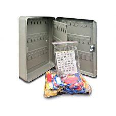 Металлический ящик для ключей КС-96 на 96 ключей