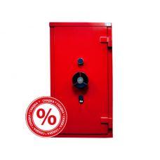 Сейф PARMA EL 470 KYC3 красный