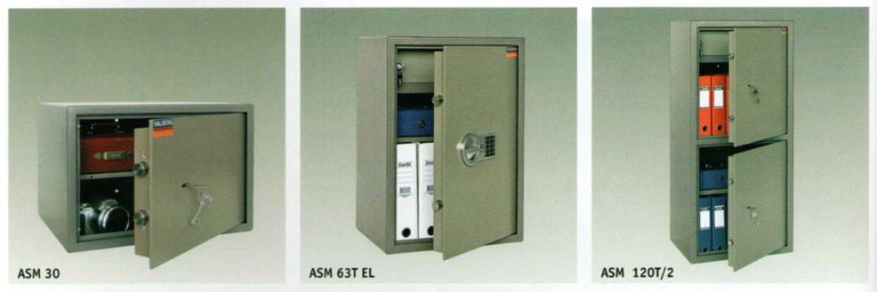 Примеры сейфов Valberg ASM